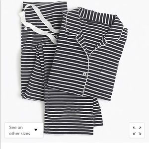 Dreamy J. Crew Cotton Pajama Set